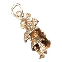 Vintage Bagpipe Player Charm