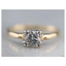 1940s Diamond Engagement Ring