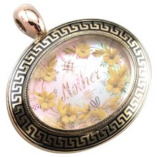 Victorian Shadowbox Locket Pendant