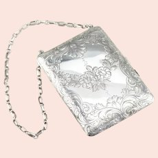 Antique 925 Sterling Silver Coin Purse