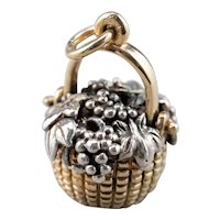 Glenaan Elliott Robbins Grape Basket Pendant