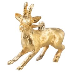 Vintage Standing Billy Goat Charm