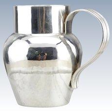 Antique 925 Sterling Silver Pitcher Creamer