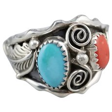 Native American Cabochon Statement Ring