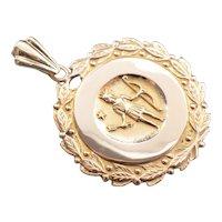 Antique 1873 M.G.H Nursing School Medallion