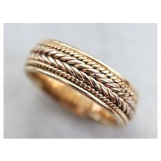 Bold Vintage Braided Band
