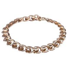Vintage Rose 14 Karat Gold Chain Bracelet