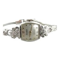 Vintage Diamond Gruen Women's Wrist Watch