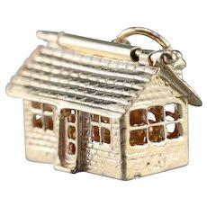 Vintage 14 Karat Gold House Charm