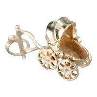 Vintage Baby Buggy Charm