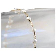 Pretty Freshwater Pearl Bracelet