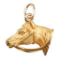 Vintage Horse Head Charm or Pendant