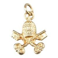 Small Keys of Heaven Pendant or Charm