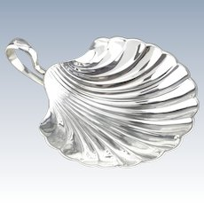 Vintage Scallop Shell Vanity Dish