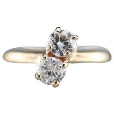 Diamond Toi et Moi Ring