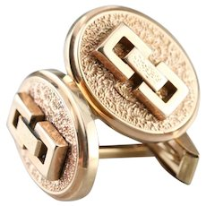Handsome Victorian Cufflinks