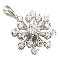 Atomic Era Diamond Starburst Pendant