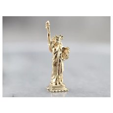Our Lady Liberty, Statue of Liberty Charm or Pendant