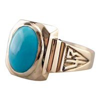 Turquoise 1943 Class Ring