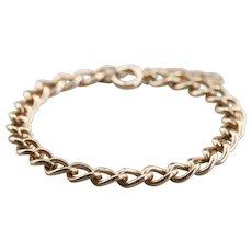 Vintage Curb Link Chain Bracelet