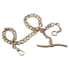 Victorian Gold Fill Watch Chain