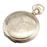Antique 1888 Waltham Open Face Pocket Watch
