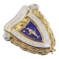Massachusetts State Federation of Women's Clubs Brooch
