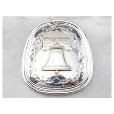 Liberty Bell 1976 Towle Sterling Silver Ornament