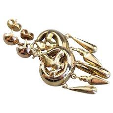 Vintage Flying Sparrow Tassel Drop Earrings