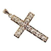 Ornate Vintage Filigree Cross