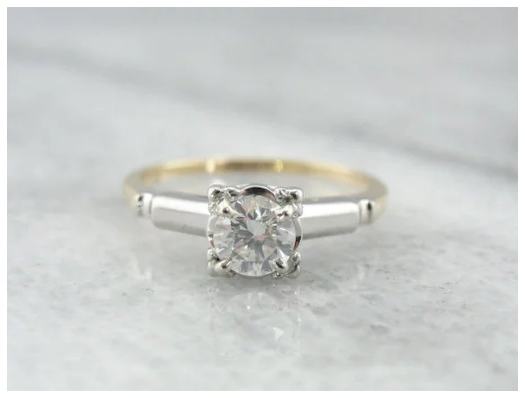 trends beautiful diamonds mixed engagement ring metals blog metal rings for