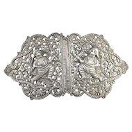 Ornate India Vintage Belt Buckle