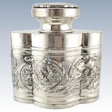 Finer Spirits: Art Nouveau Decanter with EHC Monogram