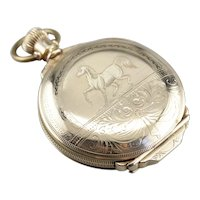 Vintage Hartman and Co Pocket Watch
