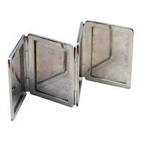 925 Sterling Silver Pocket Photo Album