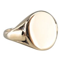 W.T. Toghill & Co 1940s Unisex Signet Ring