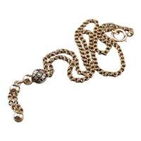 Exquisite Antique Lariat Chain