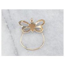 Butterfly Charm Holder Pendant