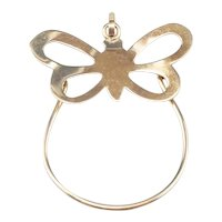 Butterfly Charm Holder Pendant