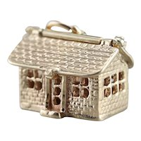Our Home Vintage House Charm or Pendant