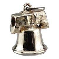 Vintage Liberty Bell Charm