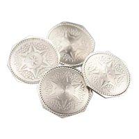 Vintage Octagon Star Cufflinks