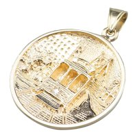Diamond San Francisco Cable Car Pendant
