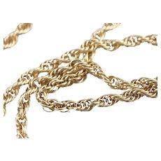 Rope Twist Chain