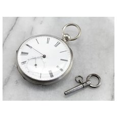 Open Face 1890's Pocket Watch