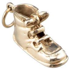 Vintage Boot Shoe Charm