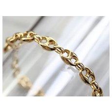 Unisex Anchor Link Bracelet