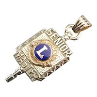 Antique Lions Clubs International Fob