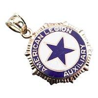 American Legion Auxiliary Military Fob