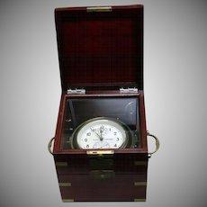 Rare-Russian-marine-Chronometer-KIROVA-POLET- Early 1950's Low-Serial-Number-6081